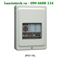 Conventional fire alarm control panel Nittan 2PD1-10L