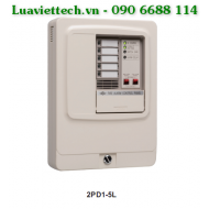 Conventional fire alarm control panel Nittan 2PD1-5L